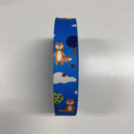 Gurtband Fuchs, 3cm breit