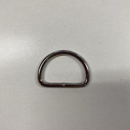 D-Ring, silberfarben, 3cm