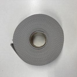 Gurtband grau, 3cm breit