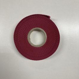 Gurtband dunkelrot / 2,5cm breit