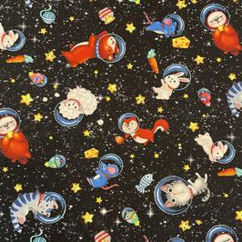 """Baumwollstoff """"Hula Universe"""""""