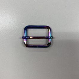 Schieber, regenbogenfarben, 2,5cm