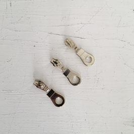 Zipper Kreis / eisgold / 3mm
