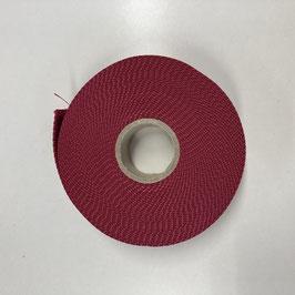 Gurtband rot, 4cm breit