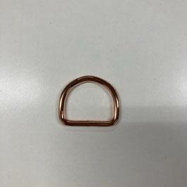 D-Ring, kupferfarben, 3cm