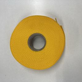 Gurtband gelb, 4cm breit