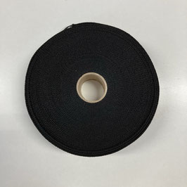 Gurtband schwarz, 4cm breit