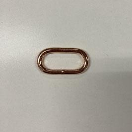Ring-Oval, kupferfarben, 3cm