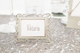Tischkarte Viktoria
