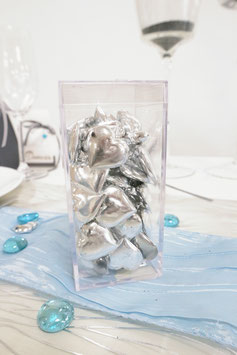 Dekoherzen Silber
