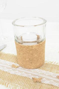 Teelichleuchter aus Kork