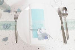 Tischkarte/Serviettenring