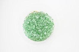 Kristalltau in Tannengrün