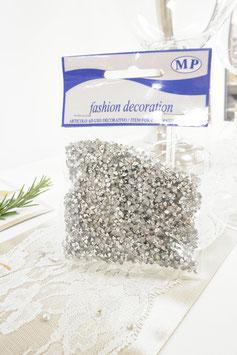 Diamanten 4mm 50g silber