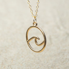 Kette Welle gold oder silber