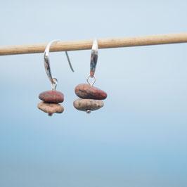Ohrhänger Strandkiesel 3