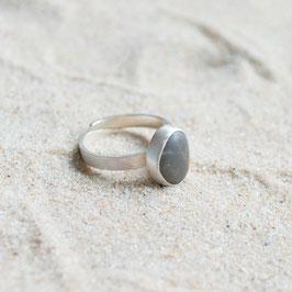 Silberring Strandkiesel
