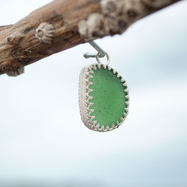 Seeglasanhänger grün