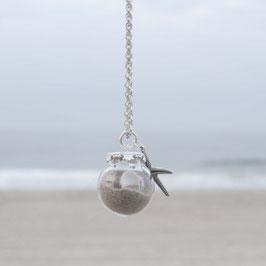 Kette Beachfeeling silber oder bronze