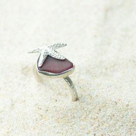 Seeglasring Seestern