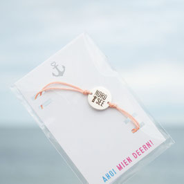 Nordsee Armband pfirsich