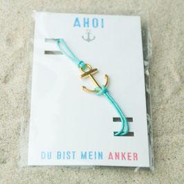 Armband Anker gold