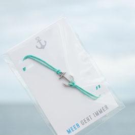 Anker Armband mint
