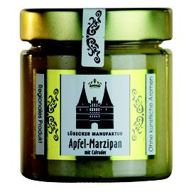 Apfel-Marzipan mit Calvados