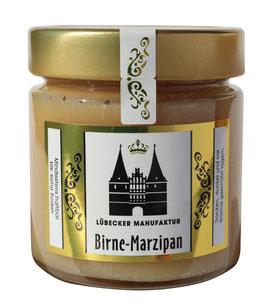 Birne-Marzipan