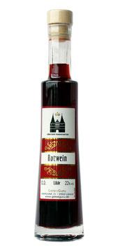 Rotwein - Likör