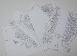 Postkartenset Düsseldorf