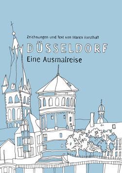 Ausmalbuch Düsseldorf