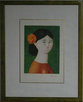 Antonio Bueno - Spagnola incorniciata