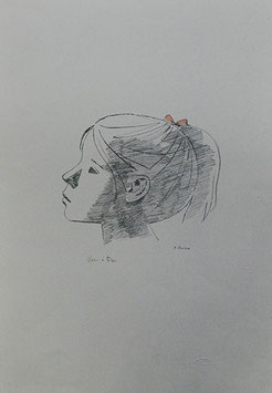 Xavier Bueno - Profilo di ragazza
