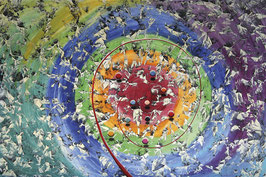 Renato Natale Chiesa - Spirale rossa