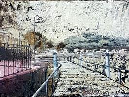 Paolo Petrò -Paesaggio lacustre