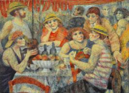 Remo Squillantini - D'Après Renoir