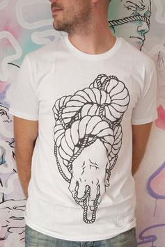 "T-shirt Homme "" Main Entrelacs """