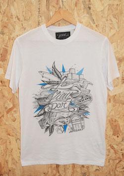 """T-shirt Homme """"Vieux-Port"""""""