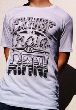 "T-shirt Homme "" Exhibe ta Craie en Riant """