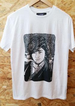 """T-shirt Homme """"Sous la fumée, la jungle"""""""