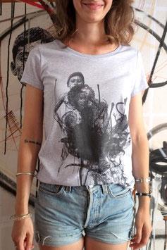 "T-shirt Femme ""Stéphane Carricondo"" lilas"