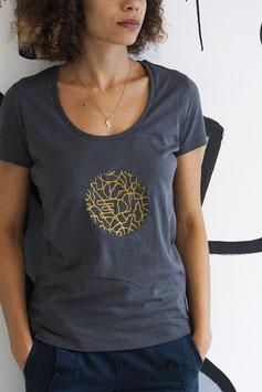 """T-shirt Femme brodé """"YANOMAMI"""""""