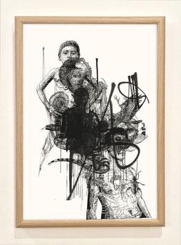 """Sérigraphie """"Combinaisons"""" by Stephane Carricondo"""