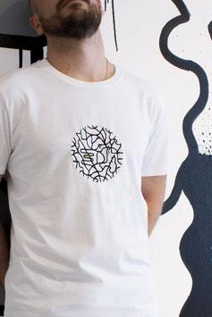 "T-shirt Homme brodé ""YANOMAMI"""