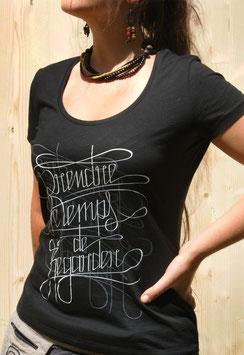 """T-shirt Femme """" Prendre le Temps de Regarder """""""