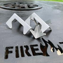 3er-Set Abstandshalter für Feuerschalen