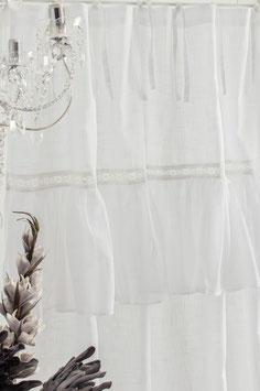 Sofia Gardinenschal white 145x250cm