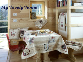 Galtex Tischdecke 140x220cm Livingo Country Landhaus