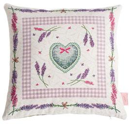 Lavendel Kissenbezug 45x45cm
